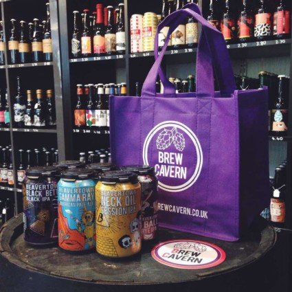 Get our beer delivered to your door by Deliveroo!