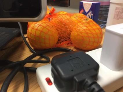 orange testing