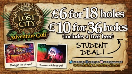 Don't miss out on our STUDENT DEALS running every Monday to Thursday after midday!